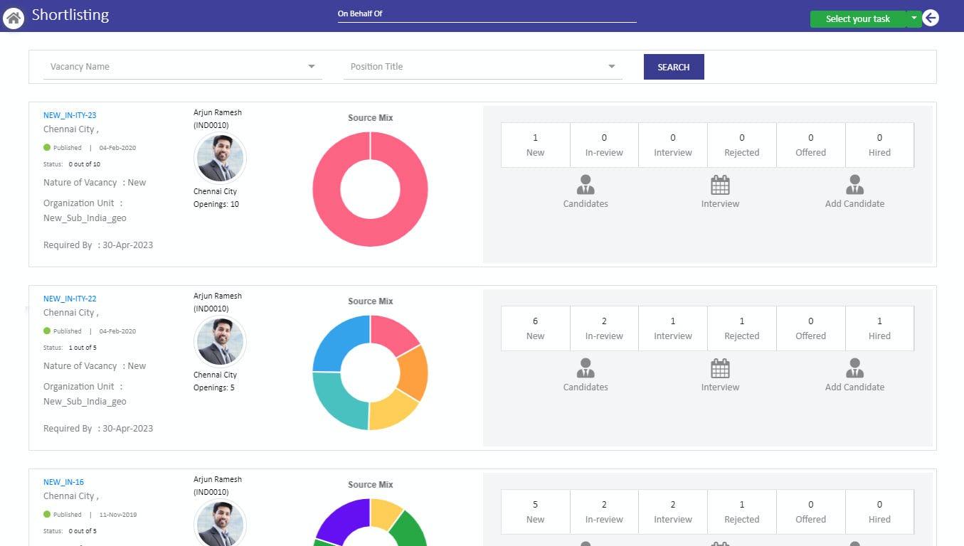 Adrenalin Max Software - Recruitment