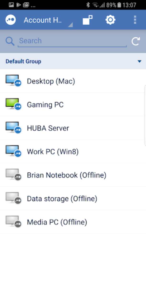 Access home and work computers while on the go