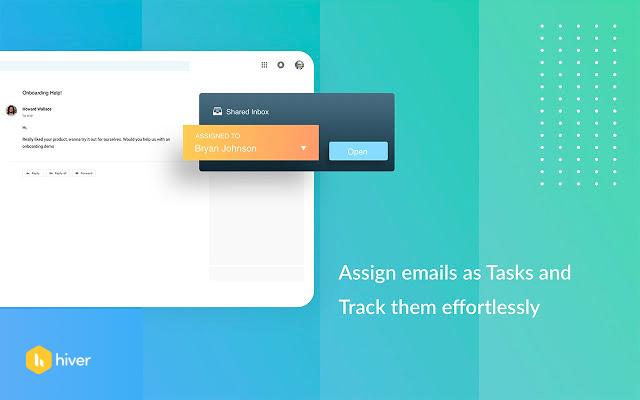 Assign emails as tasks