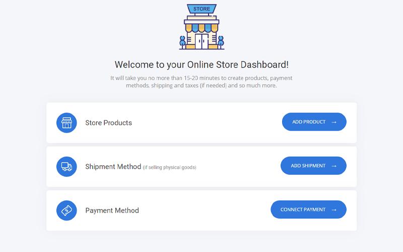 Elite Funnels dashboard for online stores
