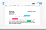 Google Workspace Software - Collaborate in real time with synchronous, auto-save, real-time editing