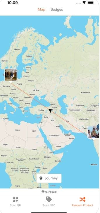 retraced maps