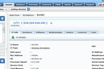 ManageEngine AssetExplorer screenshot: Assets close-up deatils in ManageEngine AssetExplorer