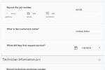 IntouchSurvey screenshot: IntouchSurvey checklist