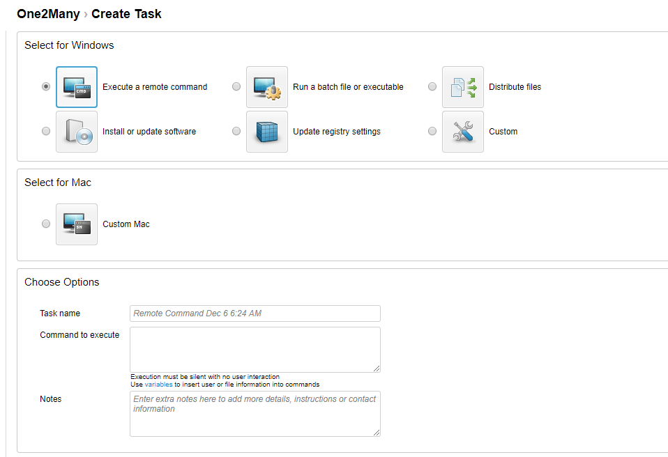LogMeIn Central task automation