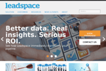 Leadspace screenshot: leadspace.com - Home