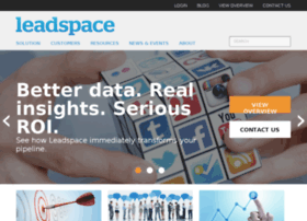 Leadspace Software - leadspace.com - Home