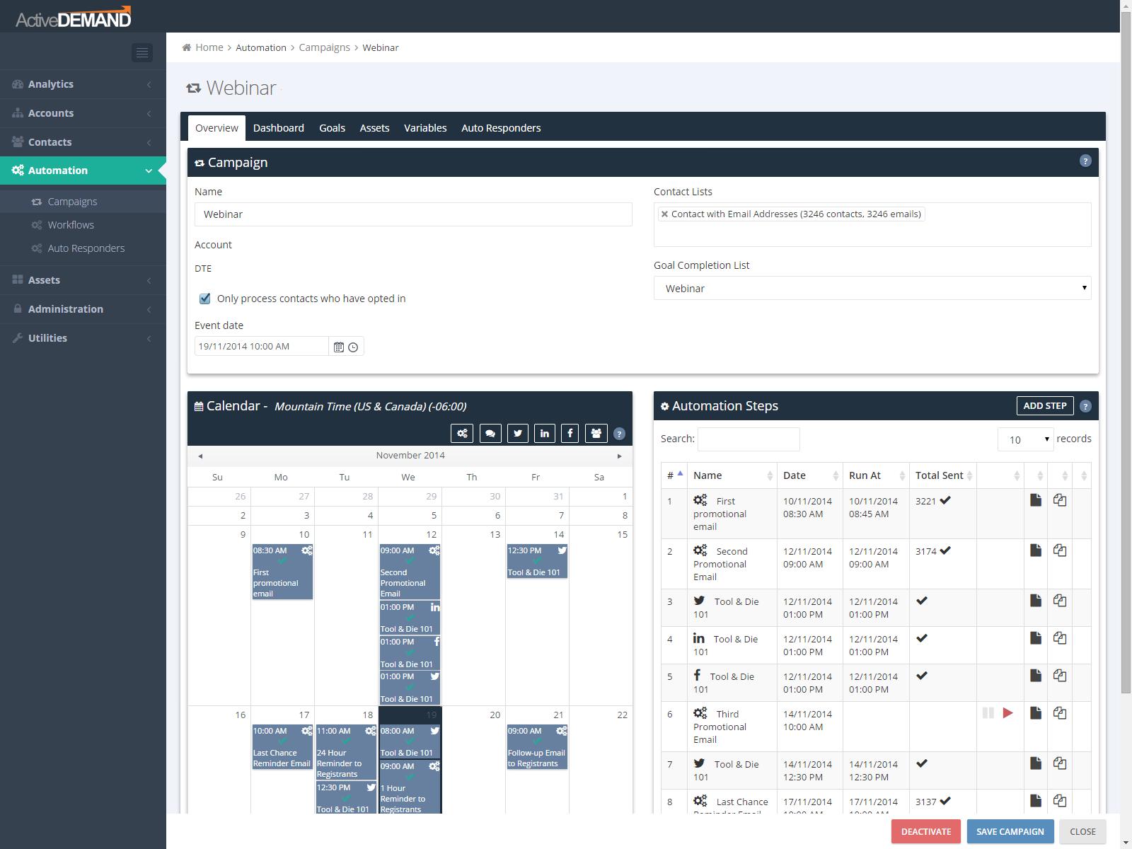 ActiveDEMAND Software - ActiveDEMAND webinar