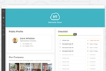 Onboard screenshot: View public profiles and company photos
