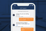 LEAP screenshot: Mobile HelpDesk Support
