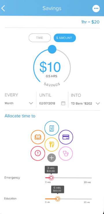 PayActiv savings goal