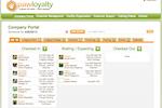 PawLoyalty Pro Software screenshot: PawLoyalty's Company Portal screen