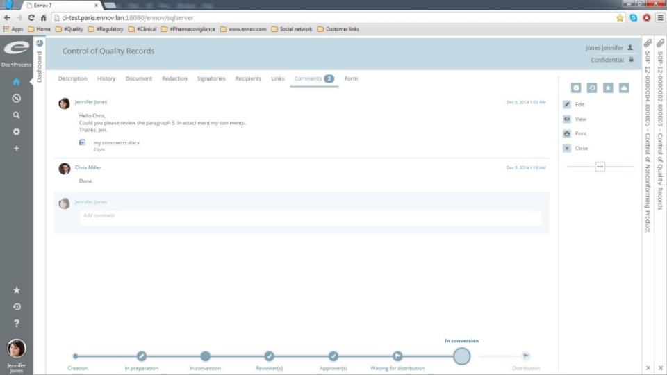 Ennov Doc Software - 3