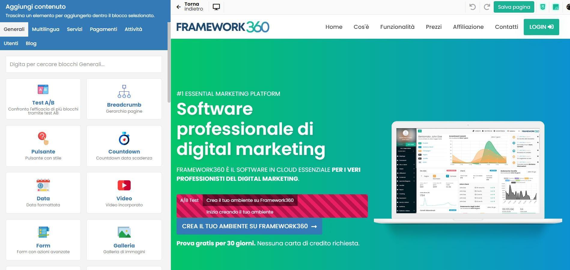 Framework360 Logiciel - 2