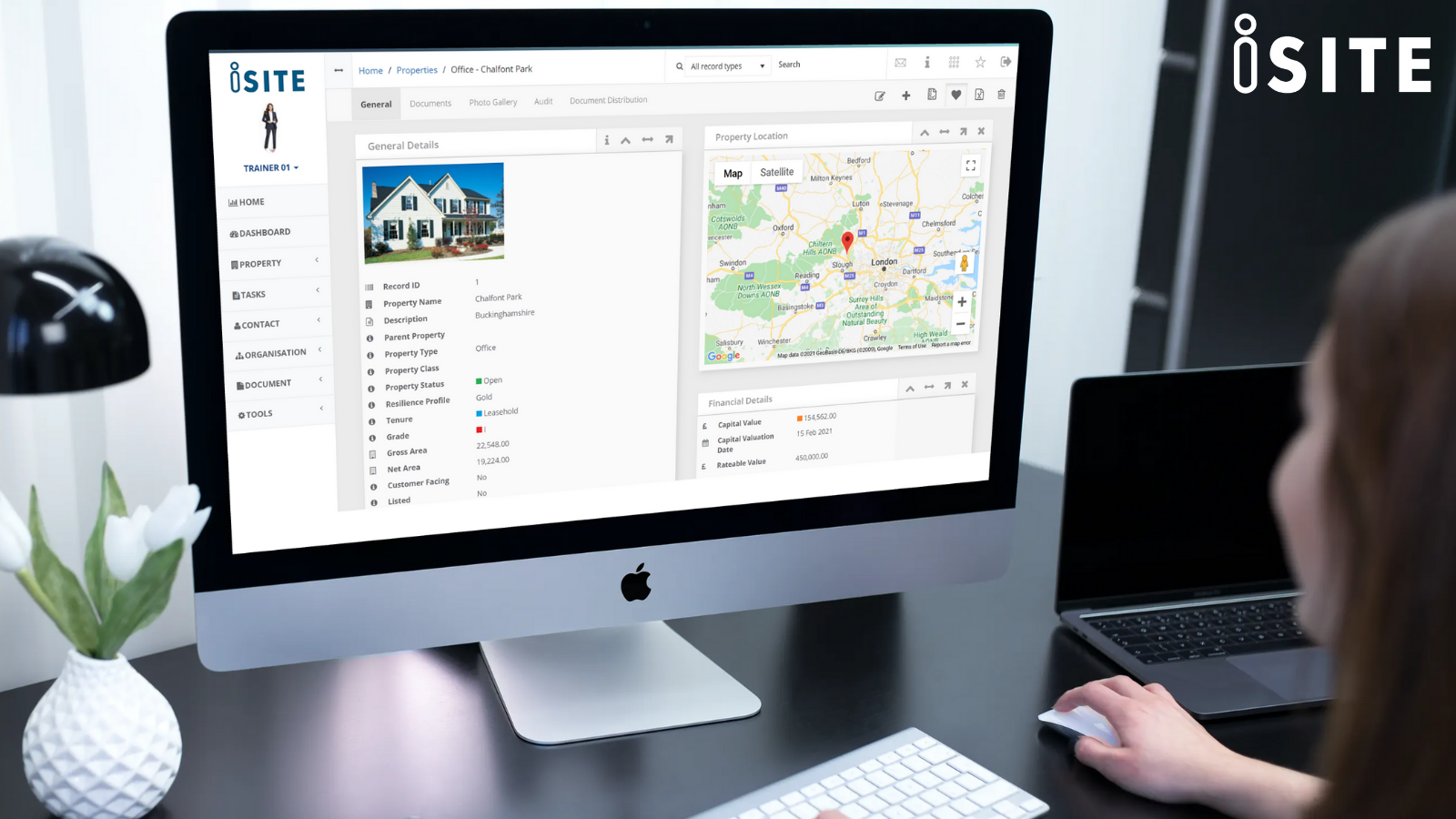 iSite Lite Software - iSite allows you to see all of your property information on one easy to navigate page, such as projects, assets, maintenance, lease breaks etc. Allowing you to forsee any upcoming events before they happen.