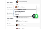 Upper Hand screenshot: Create, register and charge clients on the spot - anywhere, from any device