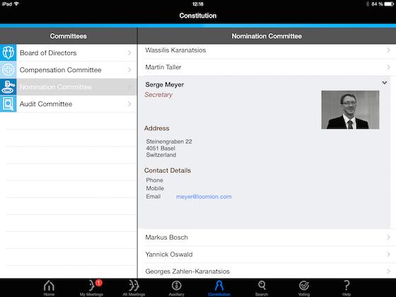 Twelve Directors' Portal Software - Twelve Directors' Portal committees