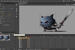 Adobe Animate Screenshot: Adobe Animate properties