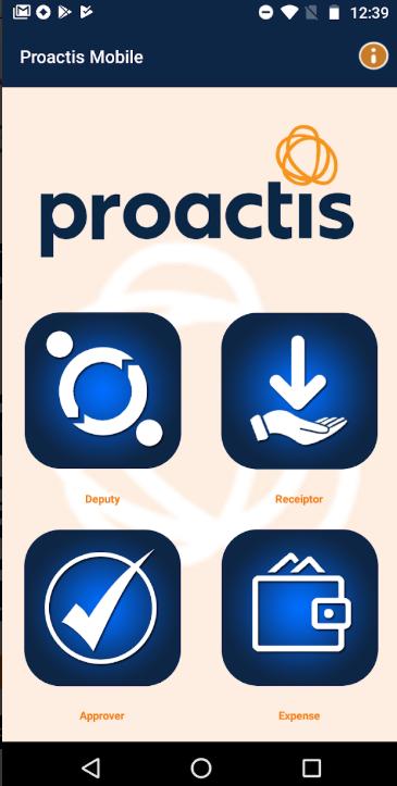 Proactis homepage