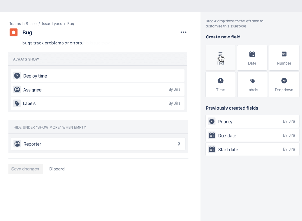 Jira customization