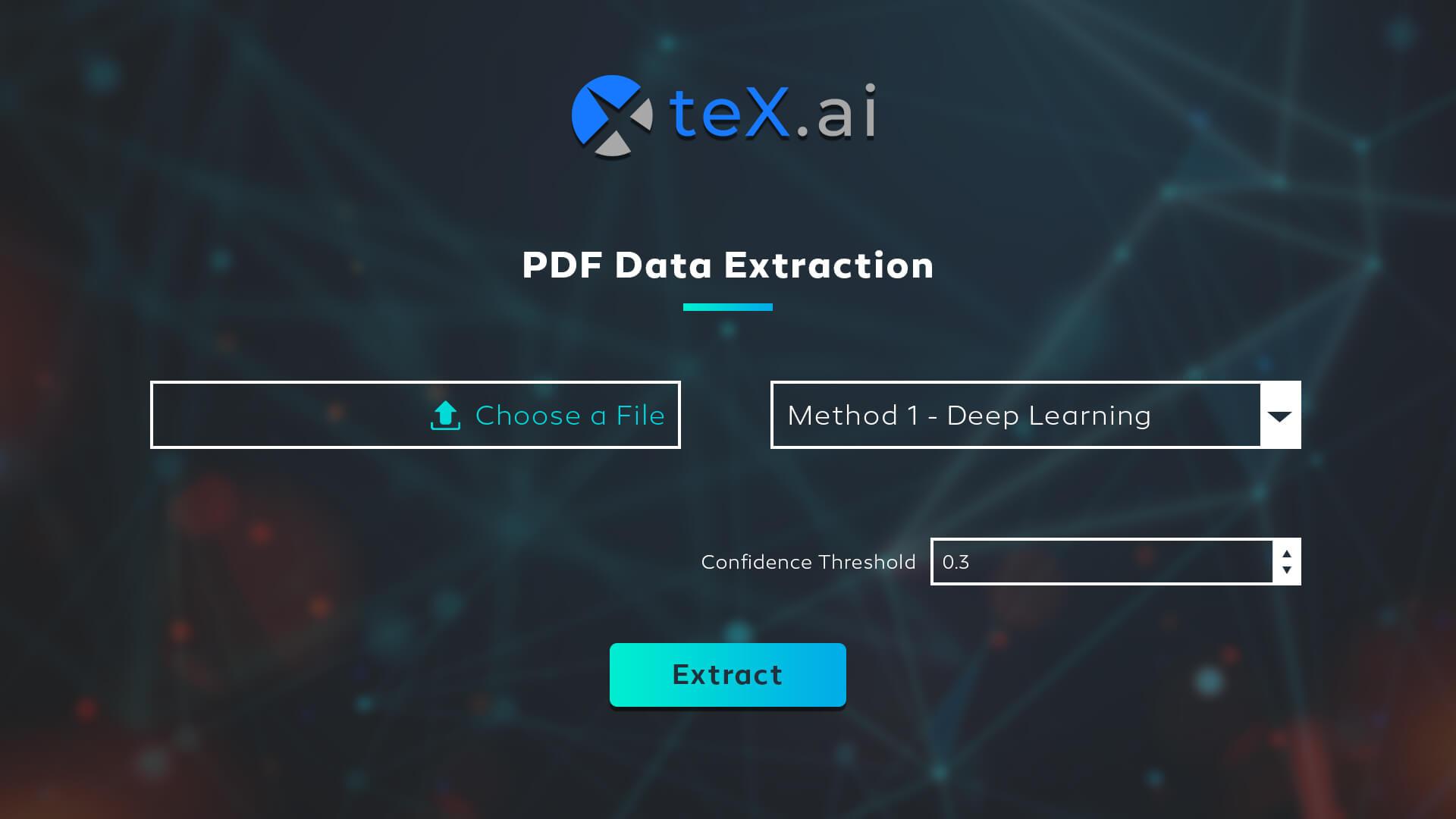 teX-Ai PDF extraction