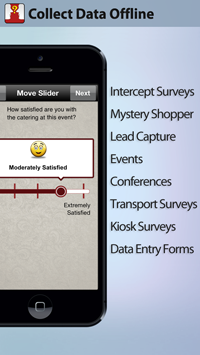 Collect data in offline mode using Harvest Your Data mobile apps for iOS and Android users