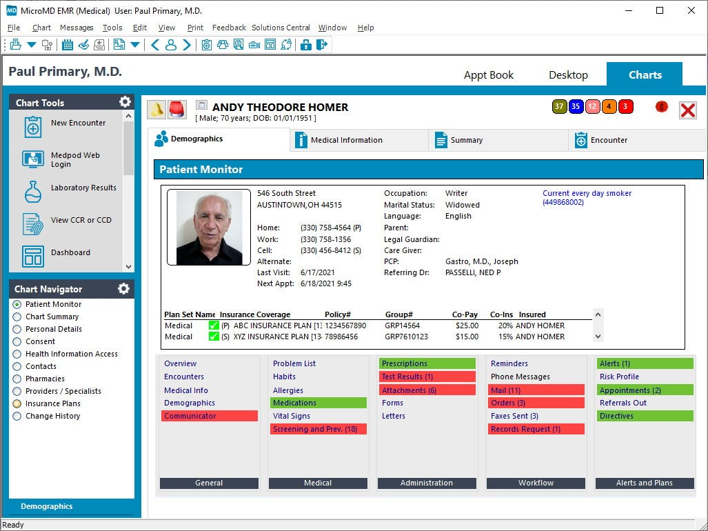 MicroMD Software - 3