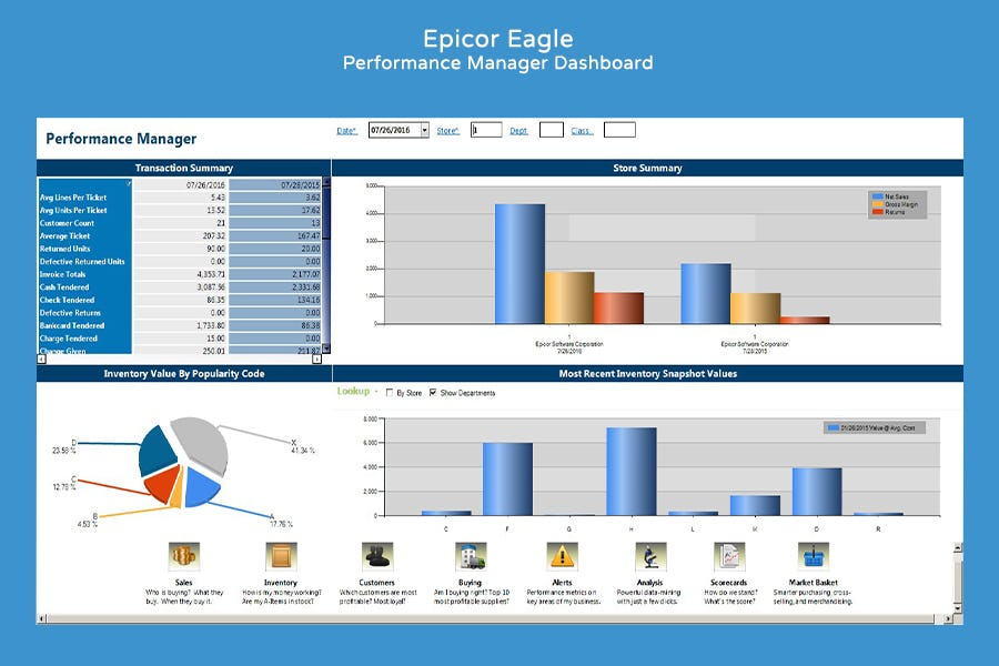Epicor Retail Solutions Software - 1