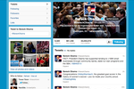 Twitter screenshot: Tweet in real-time to your followers