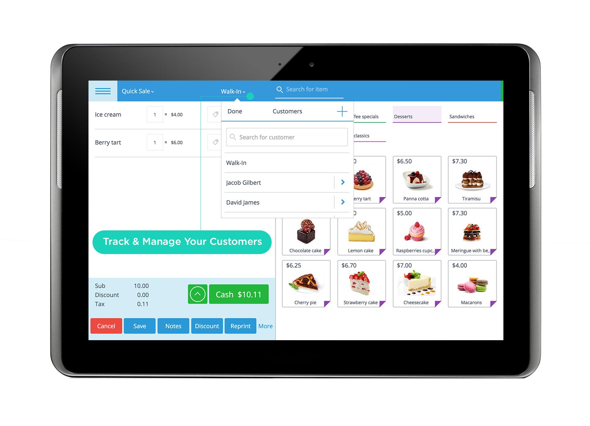 eHopper Software - Customer management