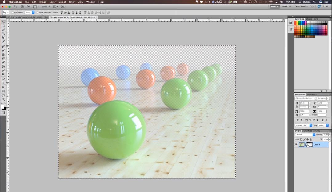 solidThinking Evolve depth analysis screenshot