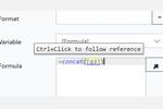 Intelledox screenshot: Intelledox formula