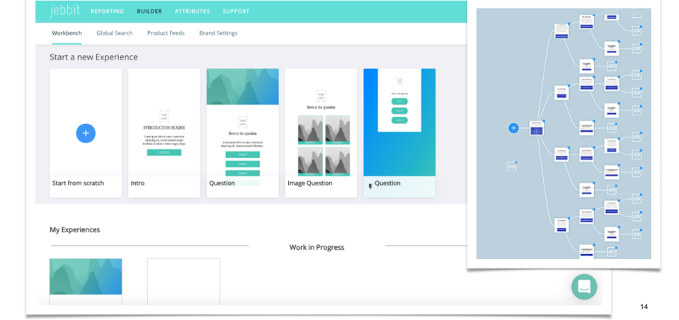Jebbit personalized experience builder