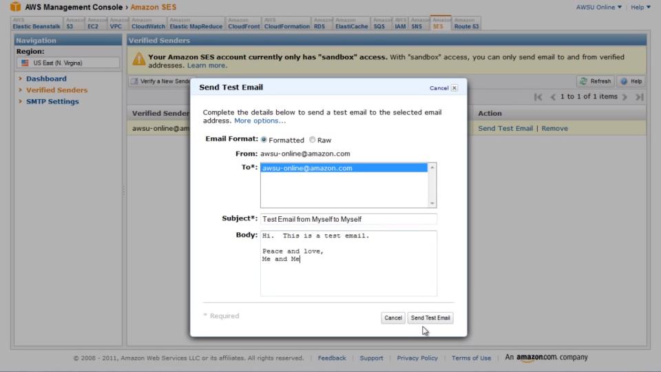 Amazon SES Software - 3