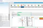 Geomap FMS screenshot: Geolocated Work Orders