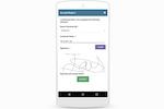 Capture d'écran pour Commusoft : Create certificates and capture customers signatures on site.