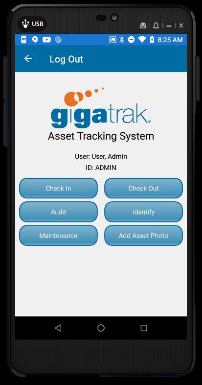 GigaTrak Asset Tracking System Software - 1