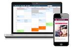 ZENOTI screenshot: Book online appointments via desktop or mobile application