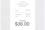 TurboTax Business screenshot: Point, snap, and store receipts and never lose proof of an expense