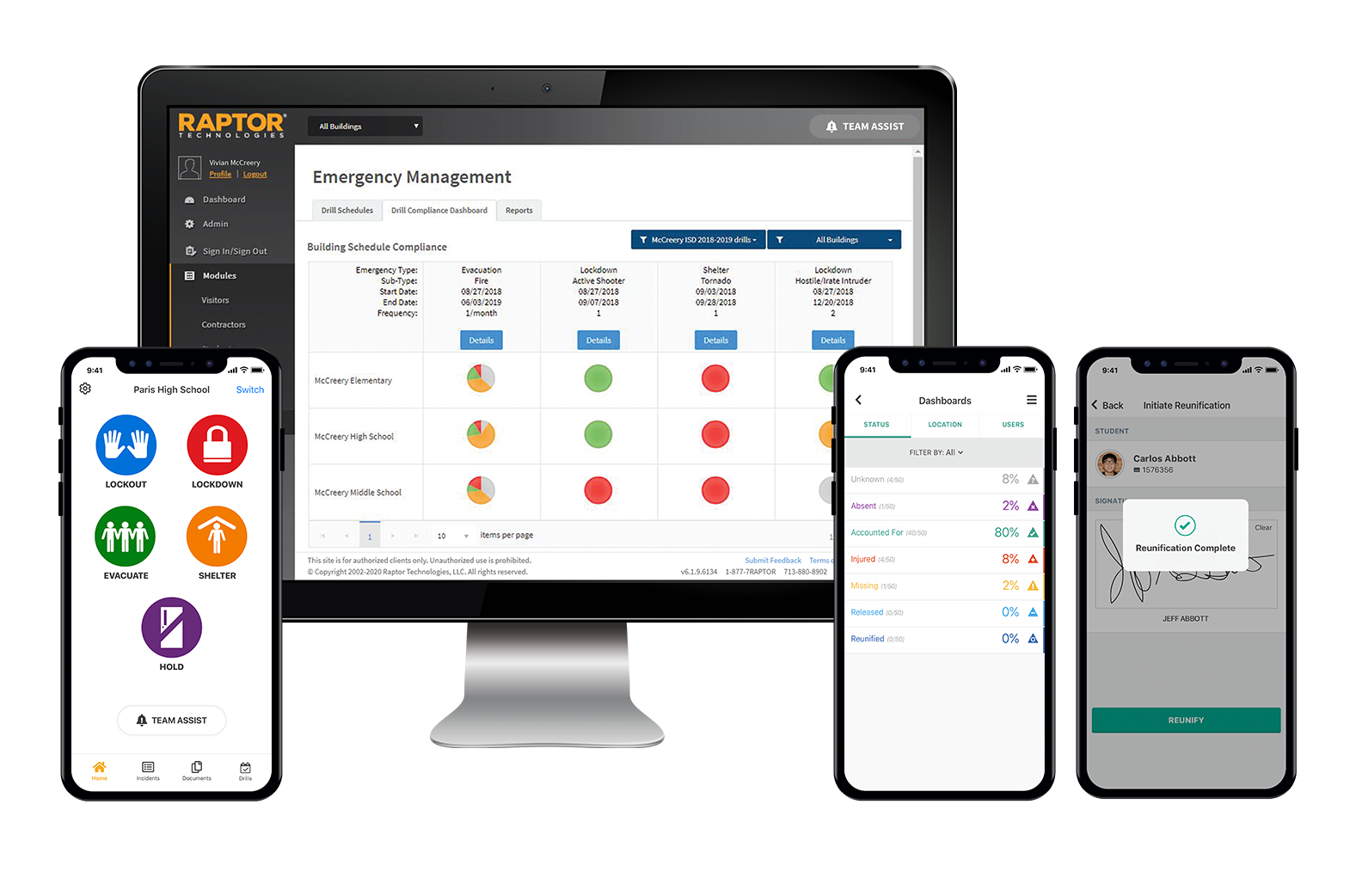 Integrated suite consists of Drill Manager, Alert, Accountability, and Reunification to help expedite emergency preparedness, response, and recovery.