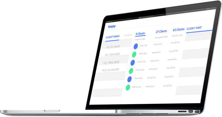 Manage all clients from a single dashboard, and send and receive client messages securely