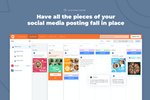 PromoRepublic screenshot: Have all the pieces of your social media posting fall in place