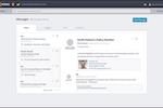 Kareo Billing screenshot: Kareo - Secure messaging via chat functionality
