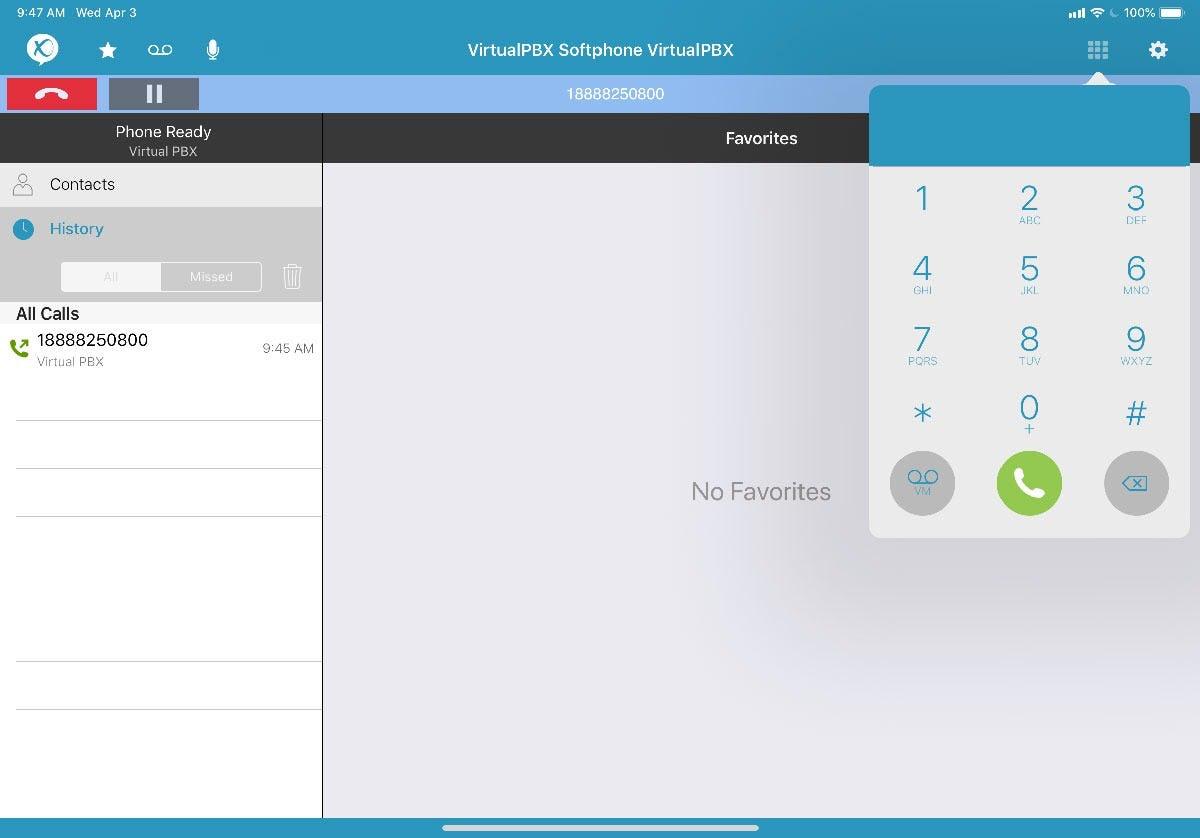 VirtualPBX Software - Desktop Softphone