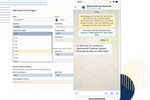 Sparkcentral Software - Chatbots - Leverage the same bot across different interfaces to automate engagement, quickly respond, and optimize your workflow