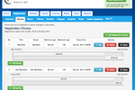 ChronoTrack Software - ChronoTrack showing registration choices tab