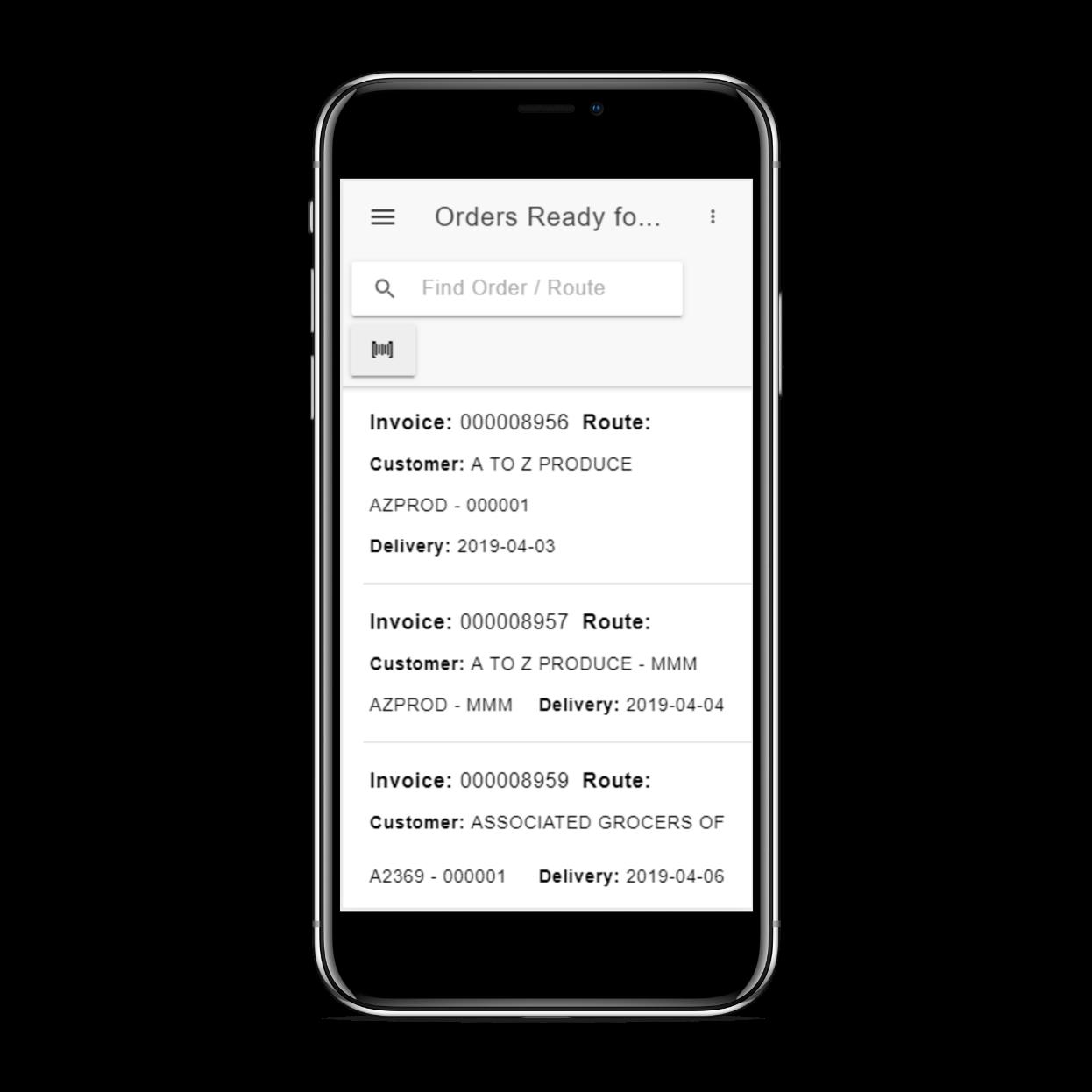 FreshByte invoice screenshot