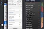 Upserve screenshot: Upserve POS' menu functionalities