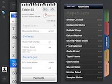 Upserve Software - Upserve POS' menu functionalities