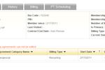 iGo Figure screenshot: iGo Figure supports recurring billing